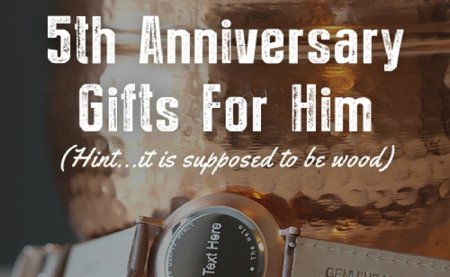 Wood 5th Anniversary Gifts For Him Tmbr