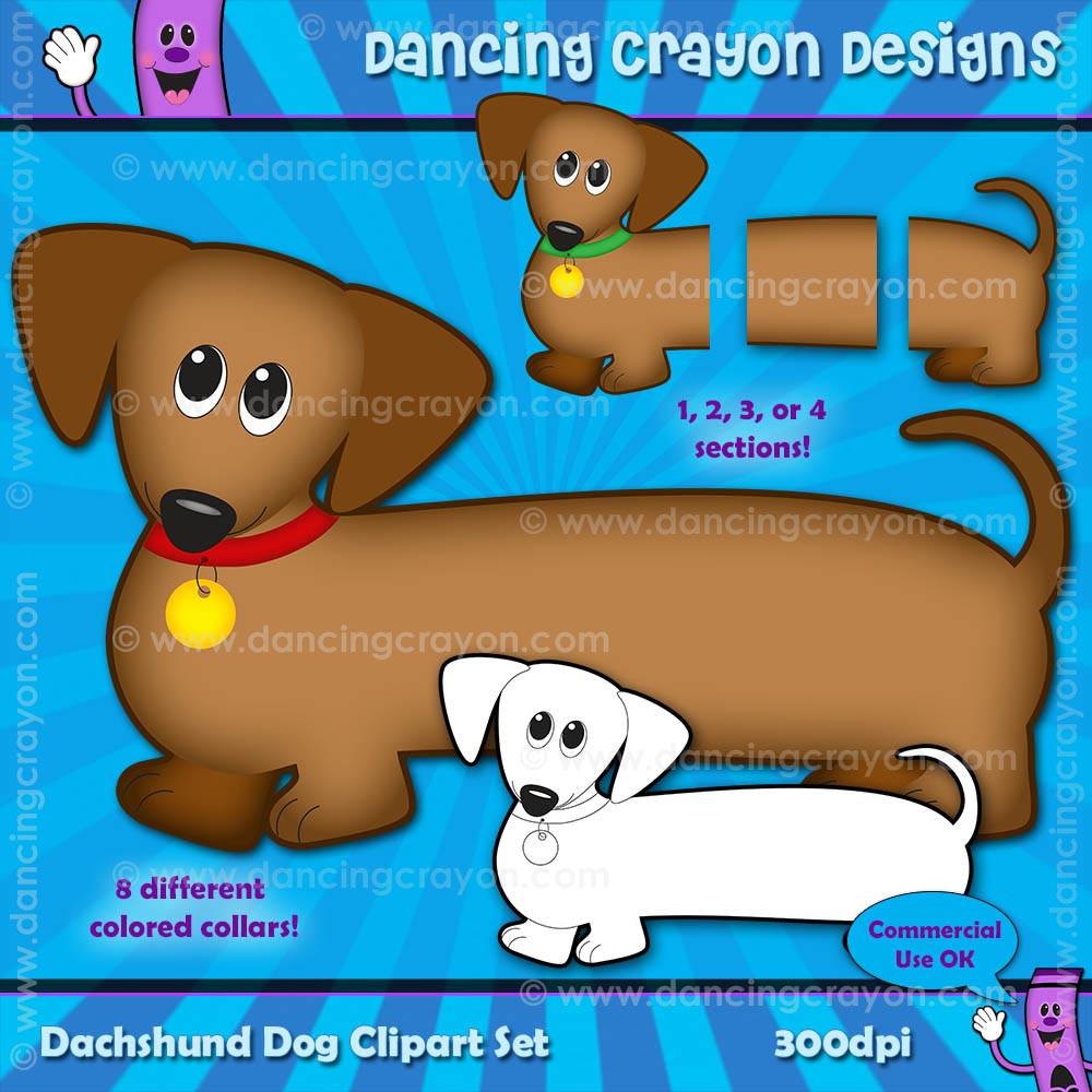 puppy clipart dachshund dog clipart [ 1000 x 1000 Pixel ]