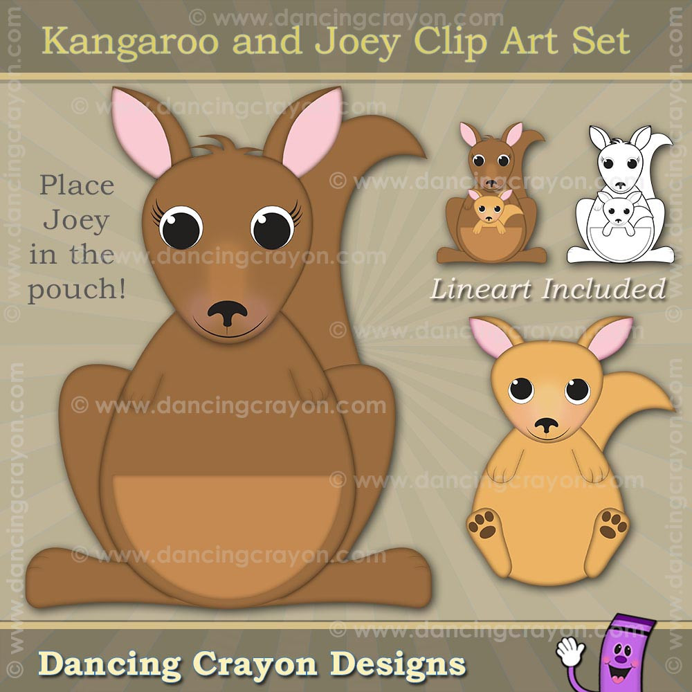 medium resolution of clipart kangaroo