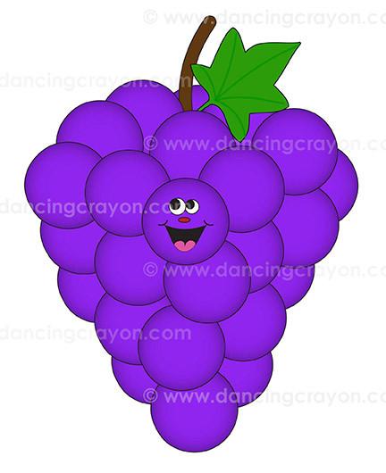 purple clip art things