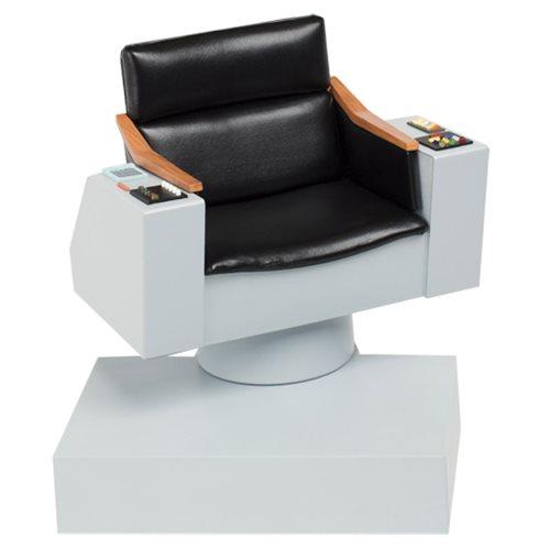 s chair replica revolving low back star trek the original series captain 1 6 scale