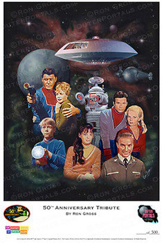Lost In Space Print By Ron Gross FabGear USA Classic