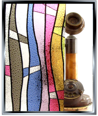 Jewel Stained Glass DIY Static Cling Window Film