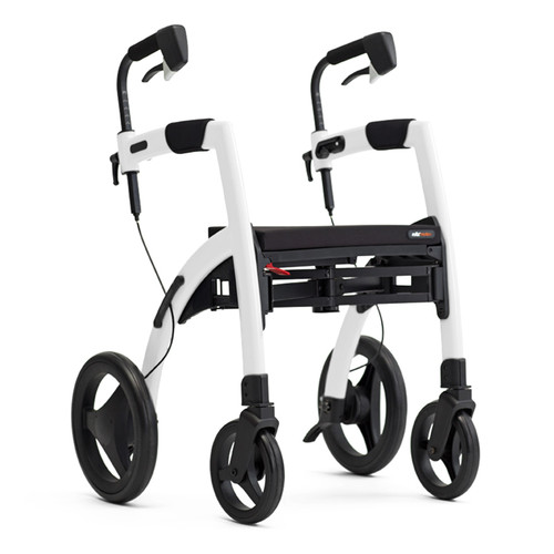 Rollz Motion2  Rollator and Transport Chair in One