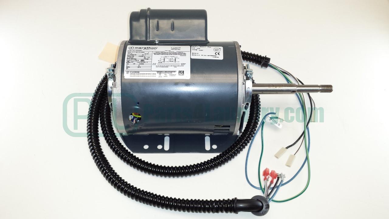 Wire Diagram 120 208 44245502 Motor Kit 75 80lb Tumbler Drive Blower