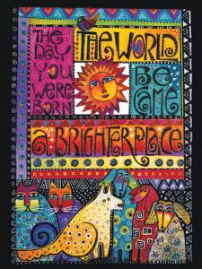 decorative kitchen floor mats copper pendant lights laurel burch card birthday -