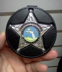 D&K Badge Clip fits:Florida Deputy Sheriff 5-Point Star ...