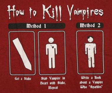 Horror Movie  How to Kill a Vampire TShirt  NerdKungFu