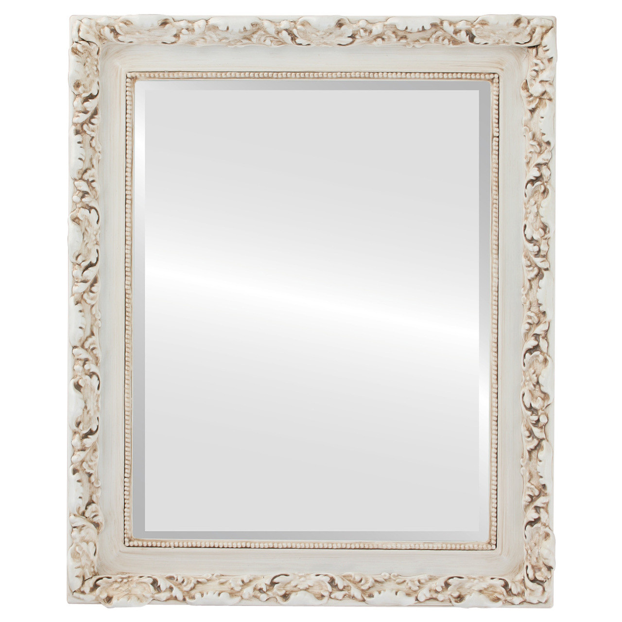 rome framed rectangle mirror