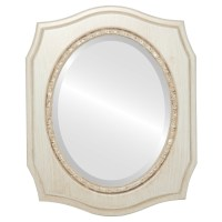 Vintage White Oval Mirrors from $200 | Free Shipping