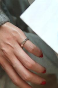 Octagon Sterling Silver Pinky Ring - kellinsilver.com