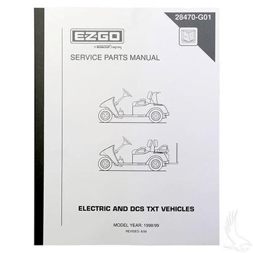 Electric Golf Cart Parts Manual Ebook