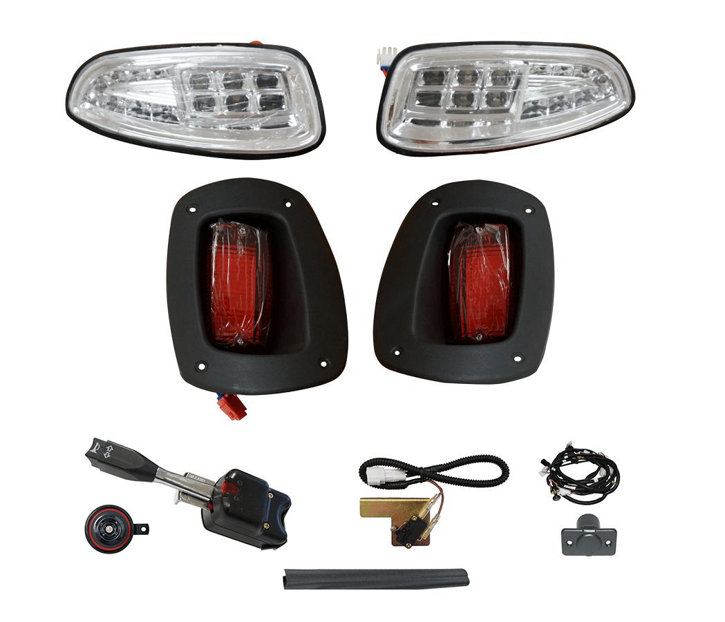 hight resolution of ezgo rxv golf cart light kit street legal led or regular factory style golf cart tire supply