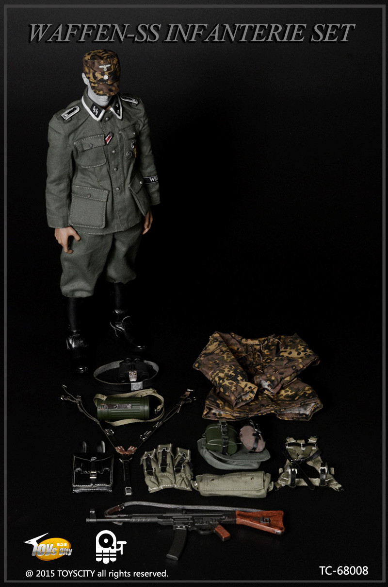 TC 68008 Toys City WWII German Waffen SS Infanterie Set