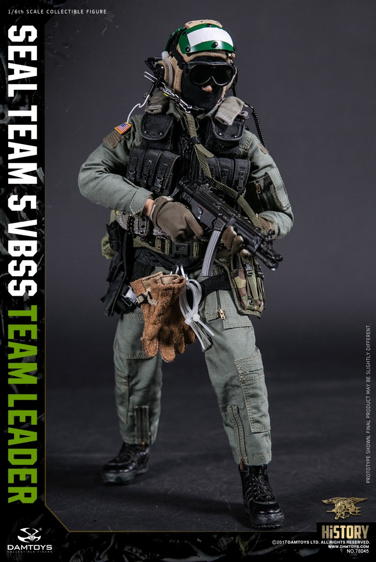 DAM78045 DAM Toys US Navy SEAL Team 5 VBSS Team Leader