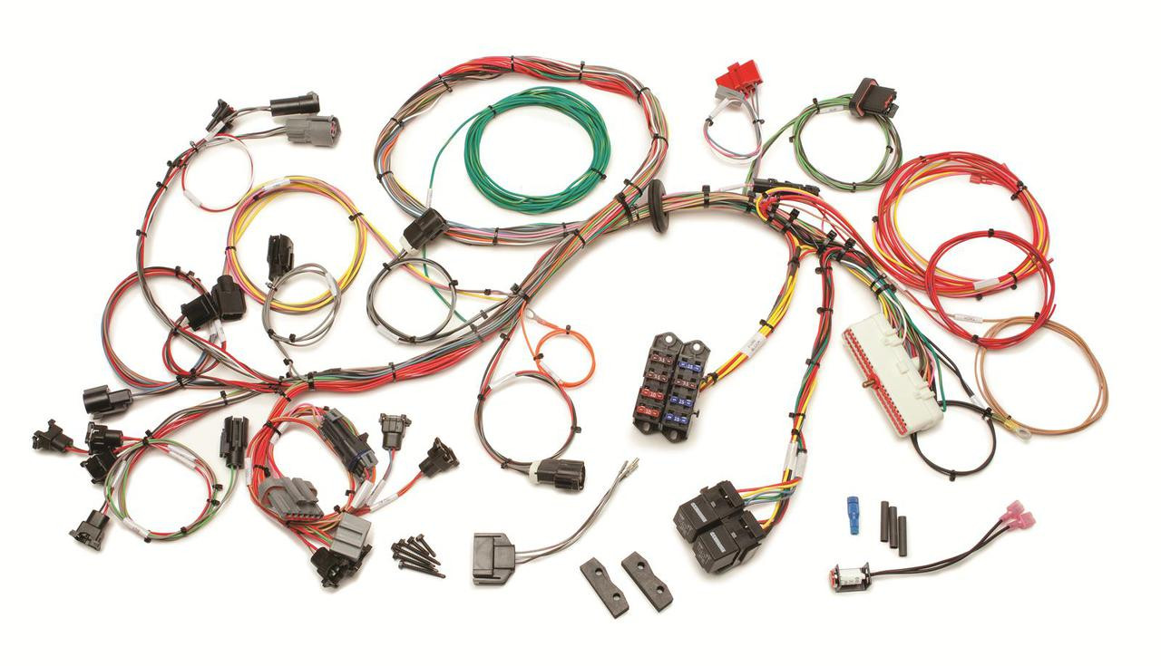 60510 painless performance 1989 1993 5 0l fuel injection wiring harness std length [ 1280 x 735 Pixel ]