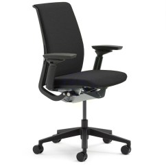Steelcase Chair Metal And Leather Dining Chairs Think Shop Ergonomic Loading Zoom