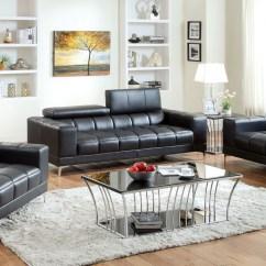 Grey Leather Living Room Set Dark Gray Furniture Fantine Red Bonded Sofas Love Seats Black