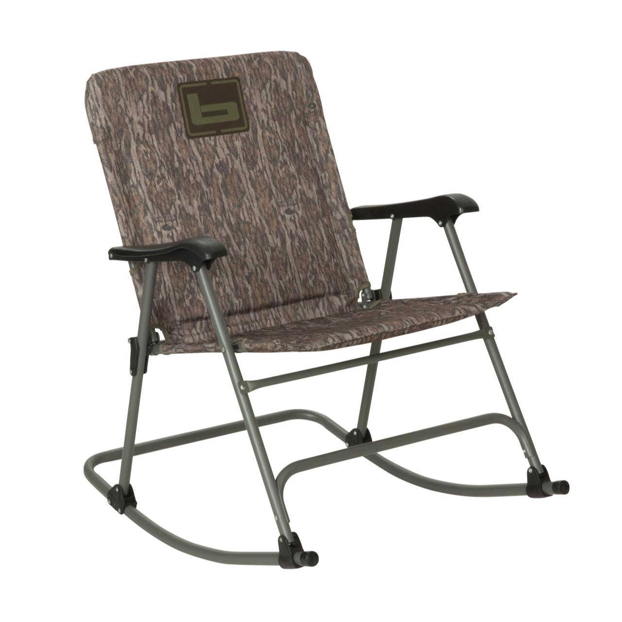 folding rocking chair wood volmar swivel review banded bottomland presleys outdoors 848222087122