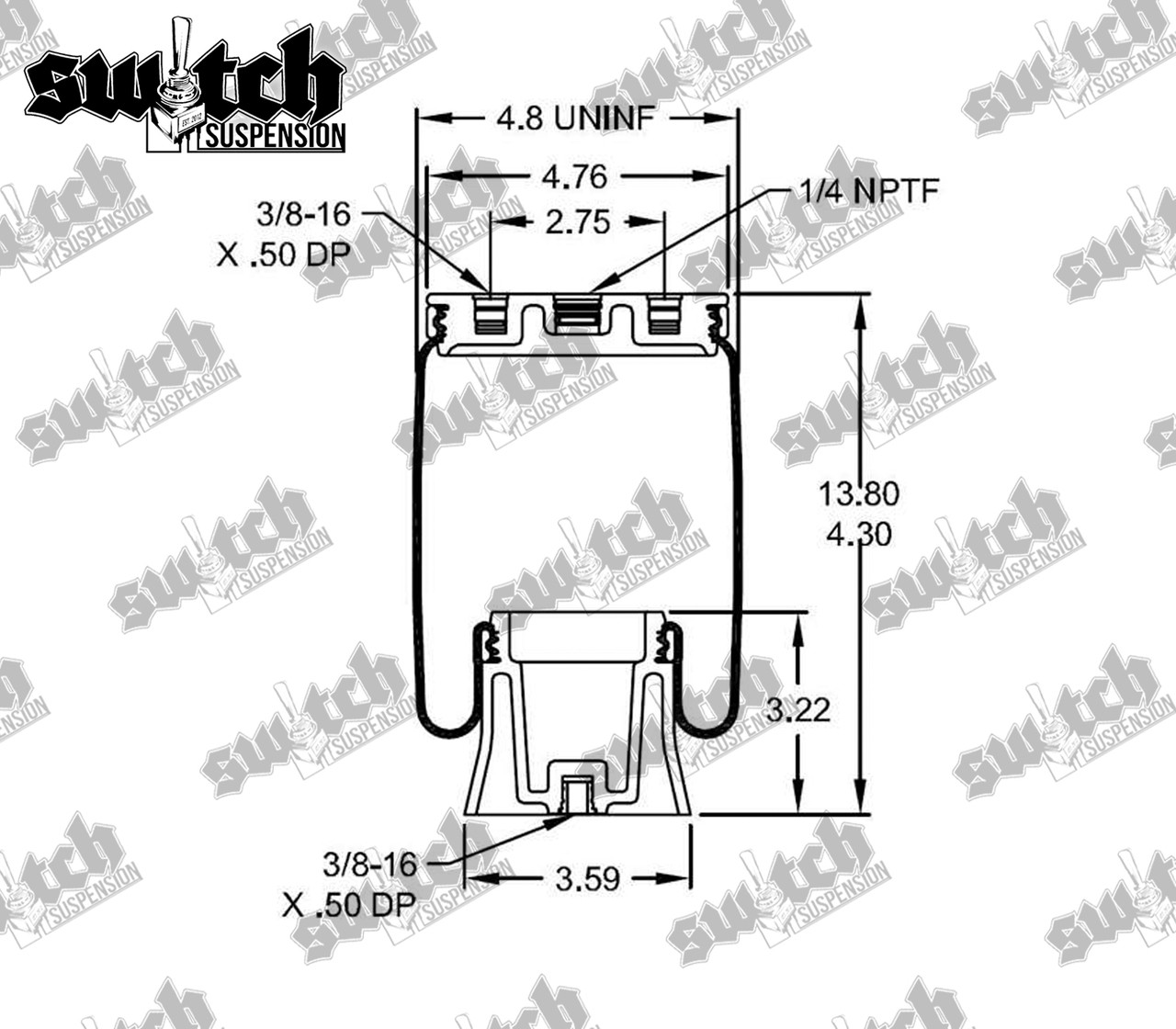 medium resolution of firestone ride rite 9000 air bag switch suspension larger more photos