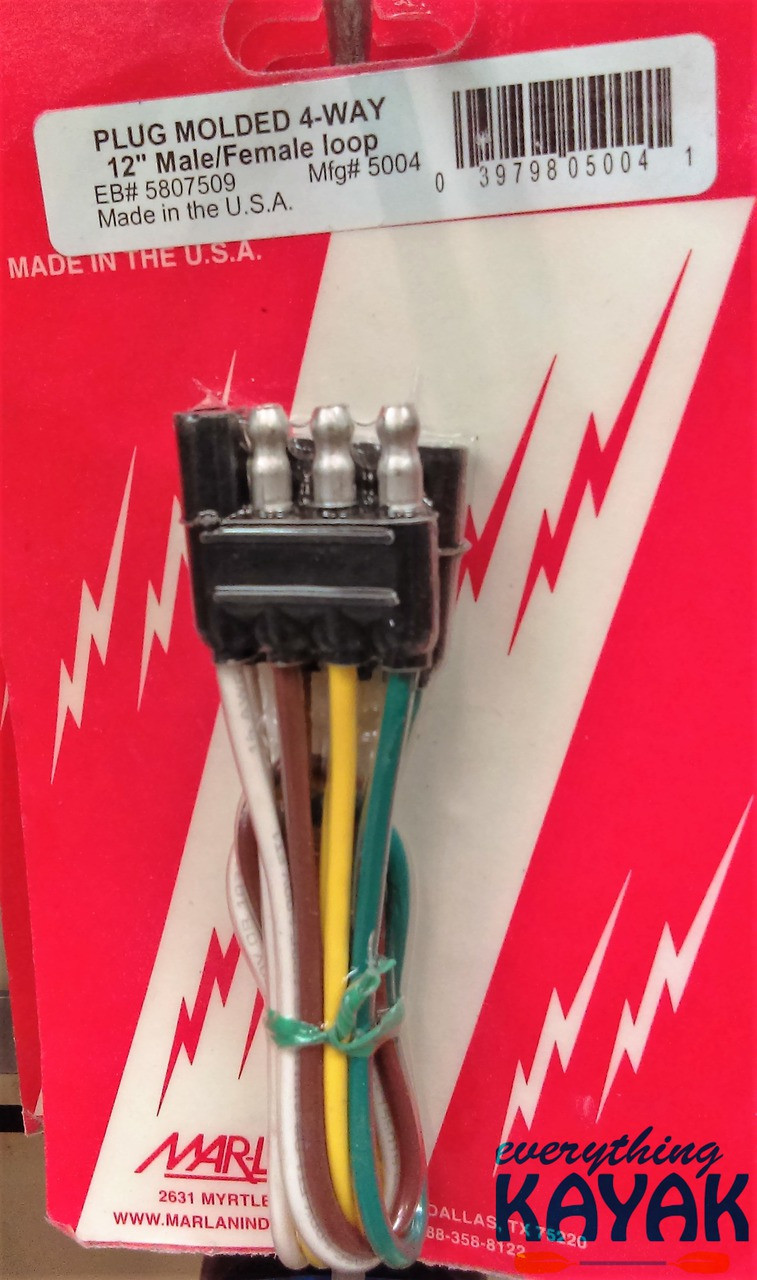 small resolution of 4 way plug wiring harnes