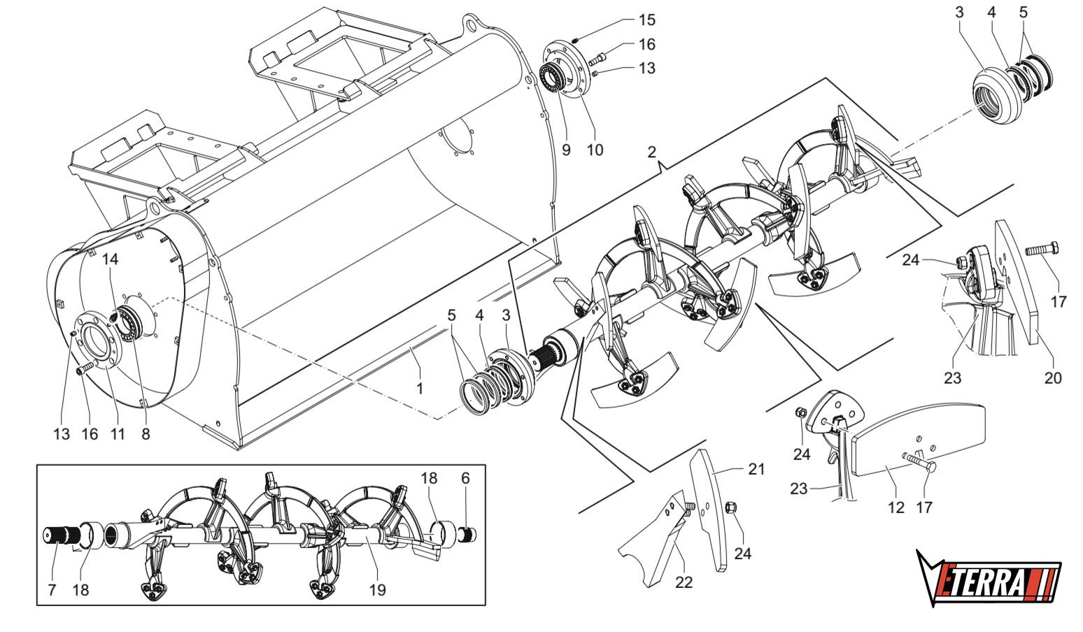 the eterra skid steer cement mixer attachment parts information  [ 1548 x 904 Pixel ]
