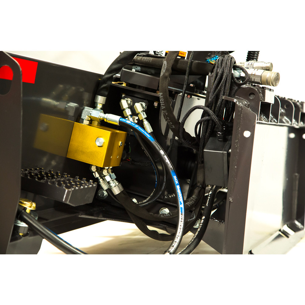 hight resolution of fcc mini skid steer snow blower attachment detail