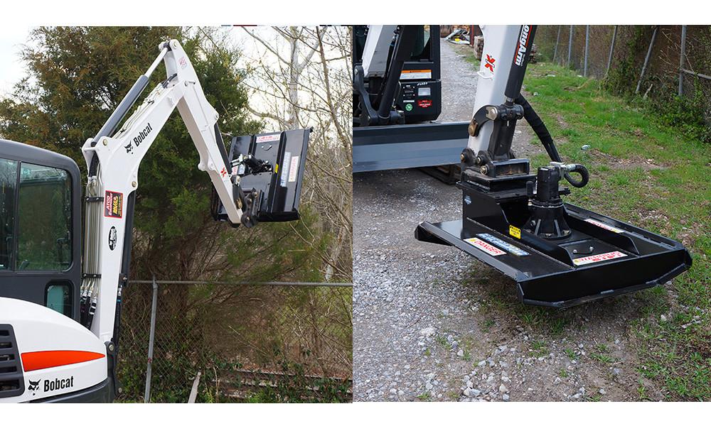 Excavator Landscape Attachments | Gardening: Flower and