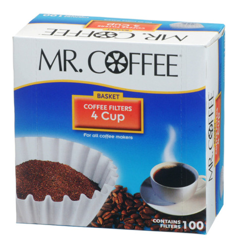 Mr Coffee 4 Cup Filters 100 Ct 1 Box The Online
