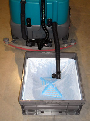 Where to dump a Floor Scrubber  DrainNet Technologies