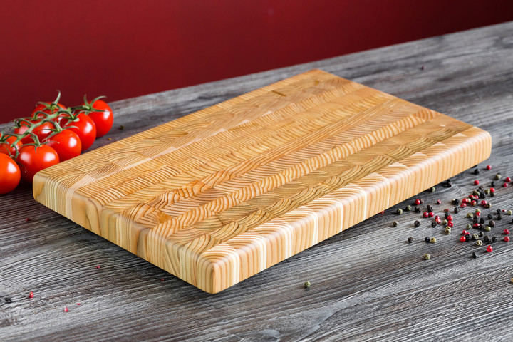 Larch Wood Large Classic Cutting Board