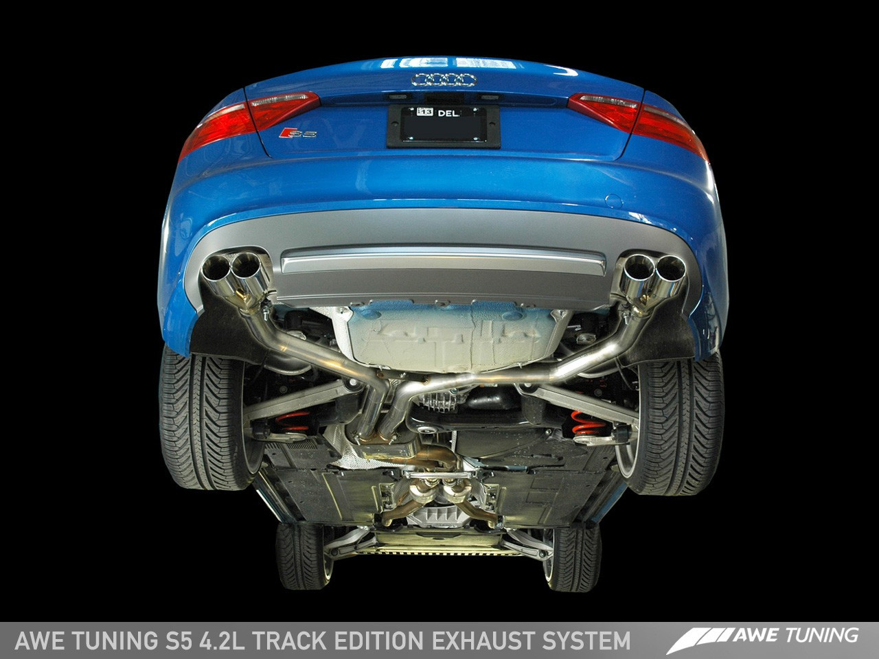 awe tuning audi s5 4 2l v8 exhaust system