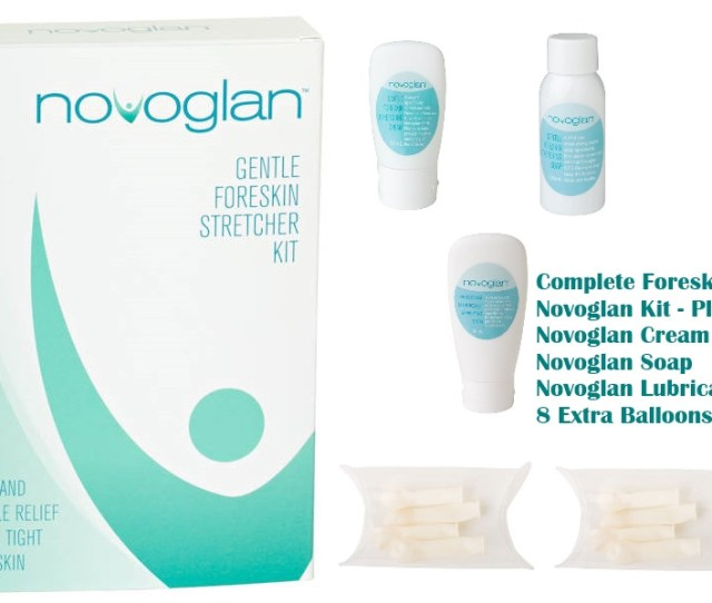 Novoglan Complete Foreskin Care Kit Is The Ultimate Solution To Treat A Tight Foreskin And Fix