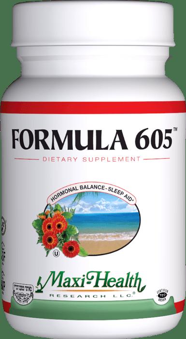Maxi Health: Formula 605 - Kosher Melatonin 3 mg ...