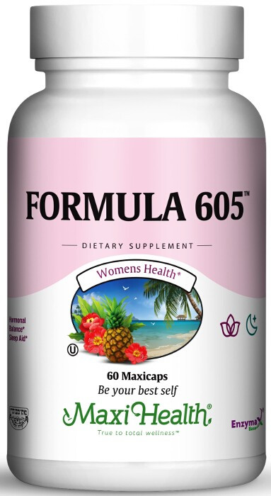 Maxi Health - Kosher Formula 605 (Melatonin 3 Mg) - 60 ...