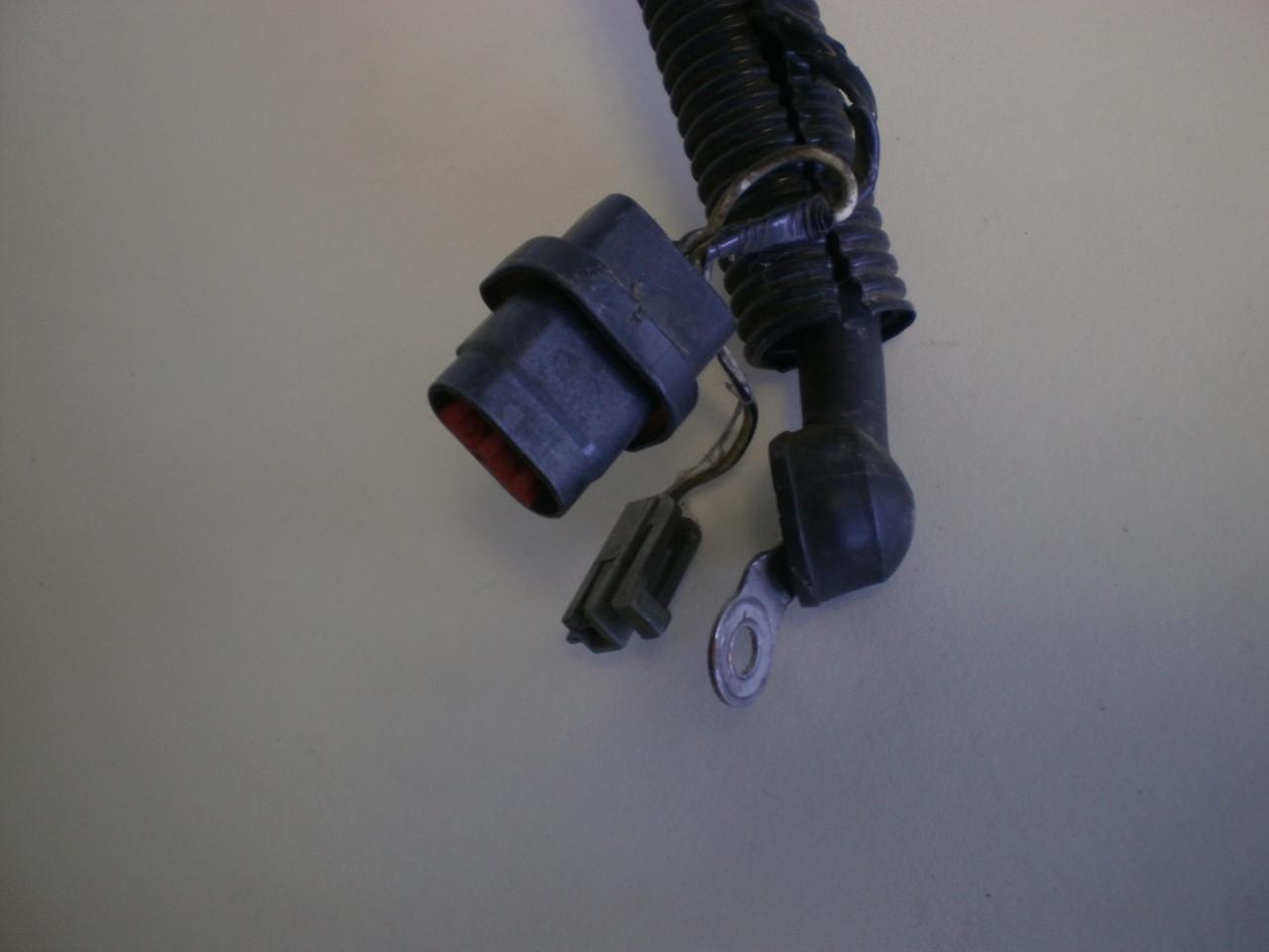 medium resolution of 1994 1995 ford mustang 5 0 v8 302 alternator charger wire harness loom cobra gt v8 94 mustang alternator wiring harness