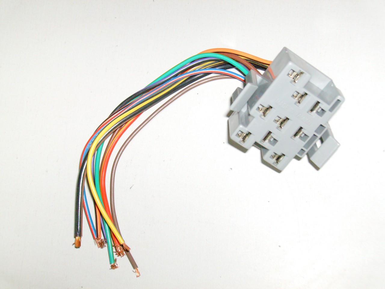 medium resolution of 1994 1998 ford mustang headlight switch plug wire harness socket gt lx cobra price 25 98 image 1