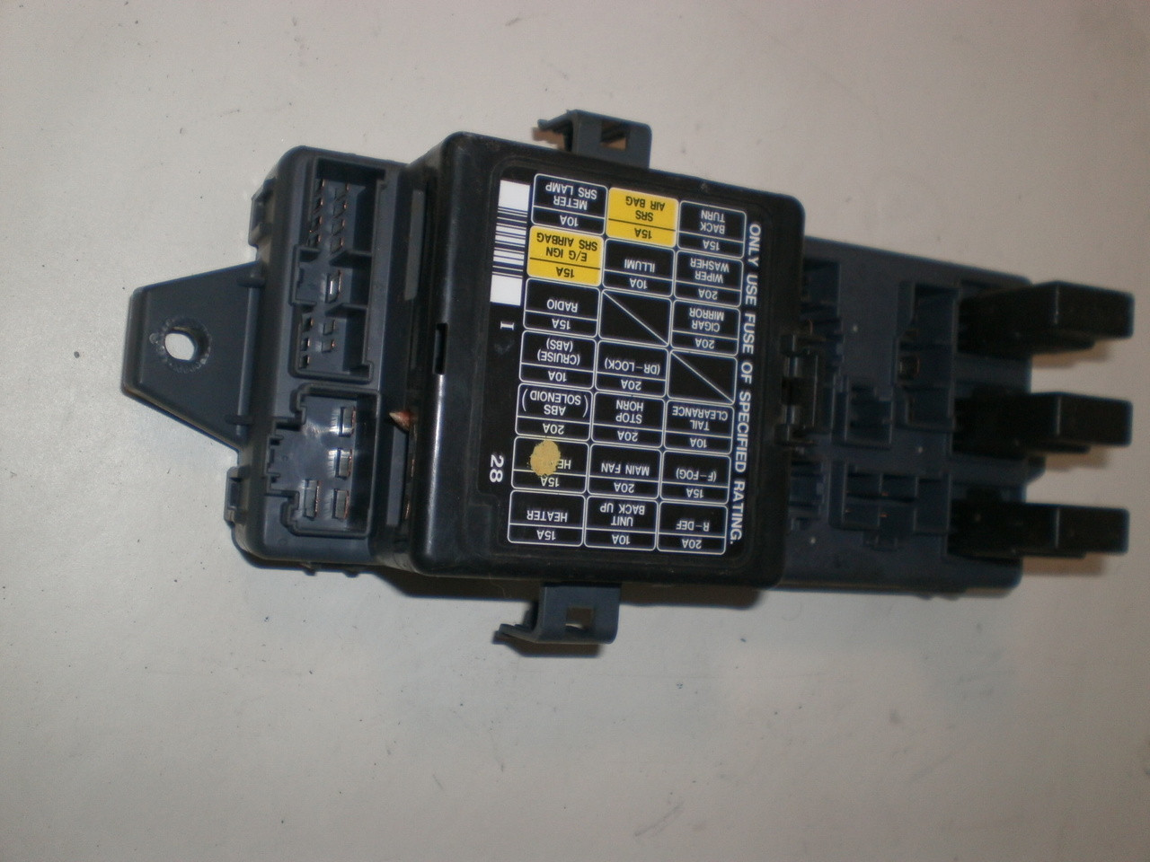 medium resolution of 1997 1999 subaru legacy outback under dash fuse panel lid module 1996 subaru legacy fuse box fuse box for 1997 subaru