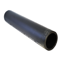 "6"" IPS SDR11 PE4710 Black Hdpe Pipe Straight Length Per ..."