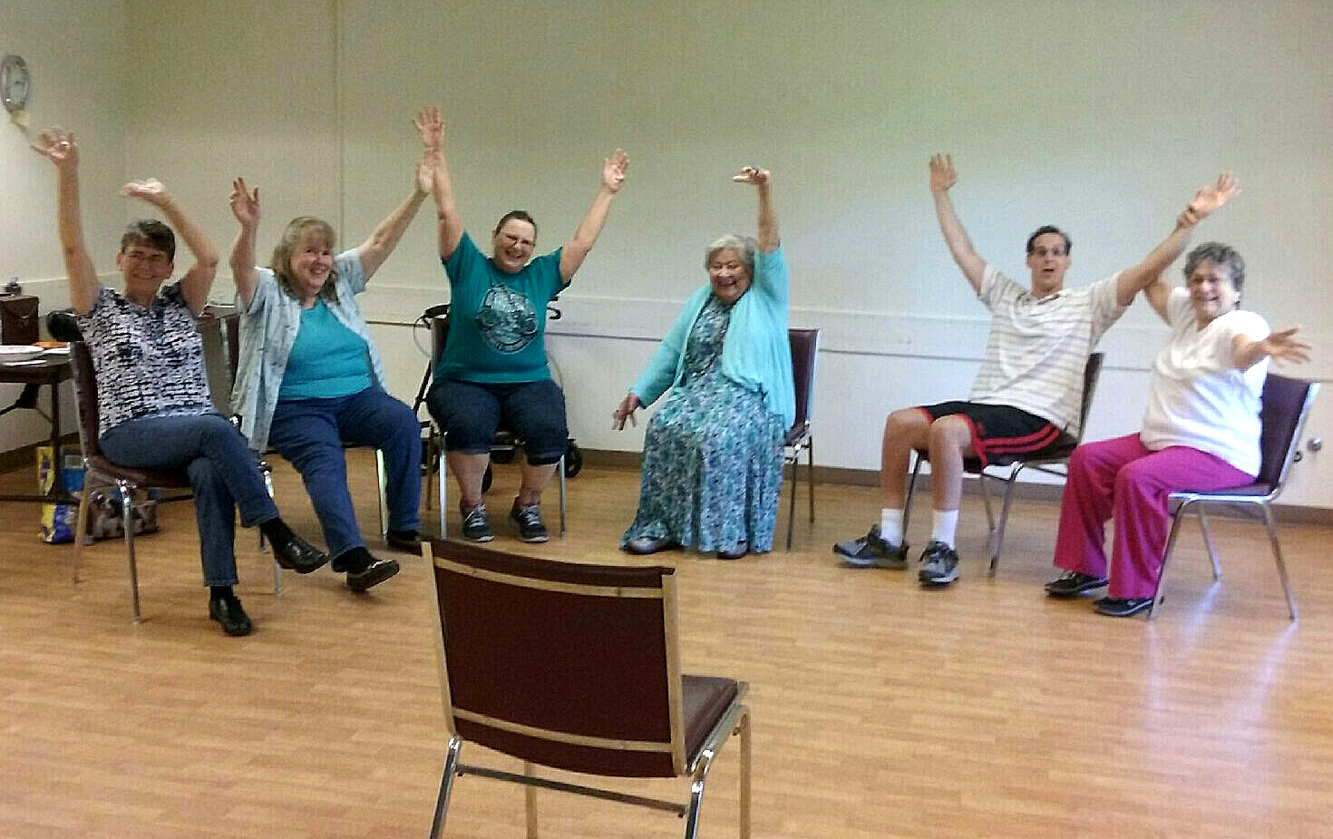 on chair dance cheap table and chairs exercise while recovering from surgery 16 6 class a jpg