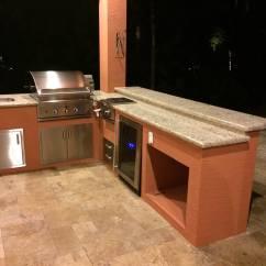 Undercounter Kitchen Sink Best Aid Mixer Dcs And Lynx Sedona Outdoor Kitchens - Bbq Depot