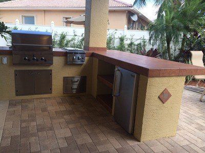 custom outdoor kitchens beach kitchen cabinets with dcs grill bbq depot