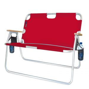 big folding chairs eames replica red tailgator chair large tailgating outdoor enough for 2 people