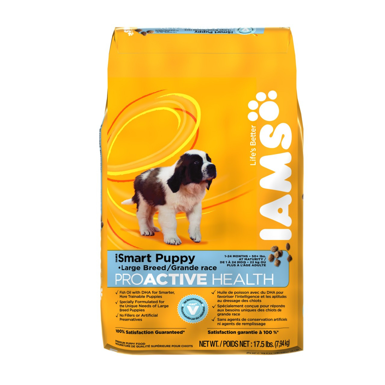 Iams proactive health smart puppy large breed food image also chaar rh