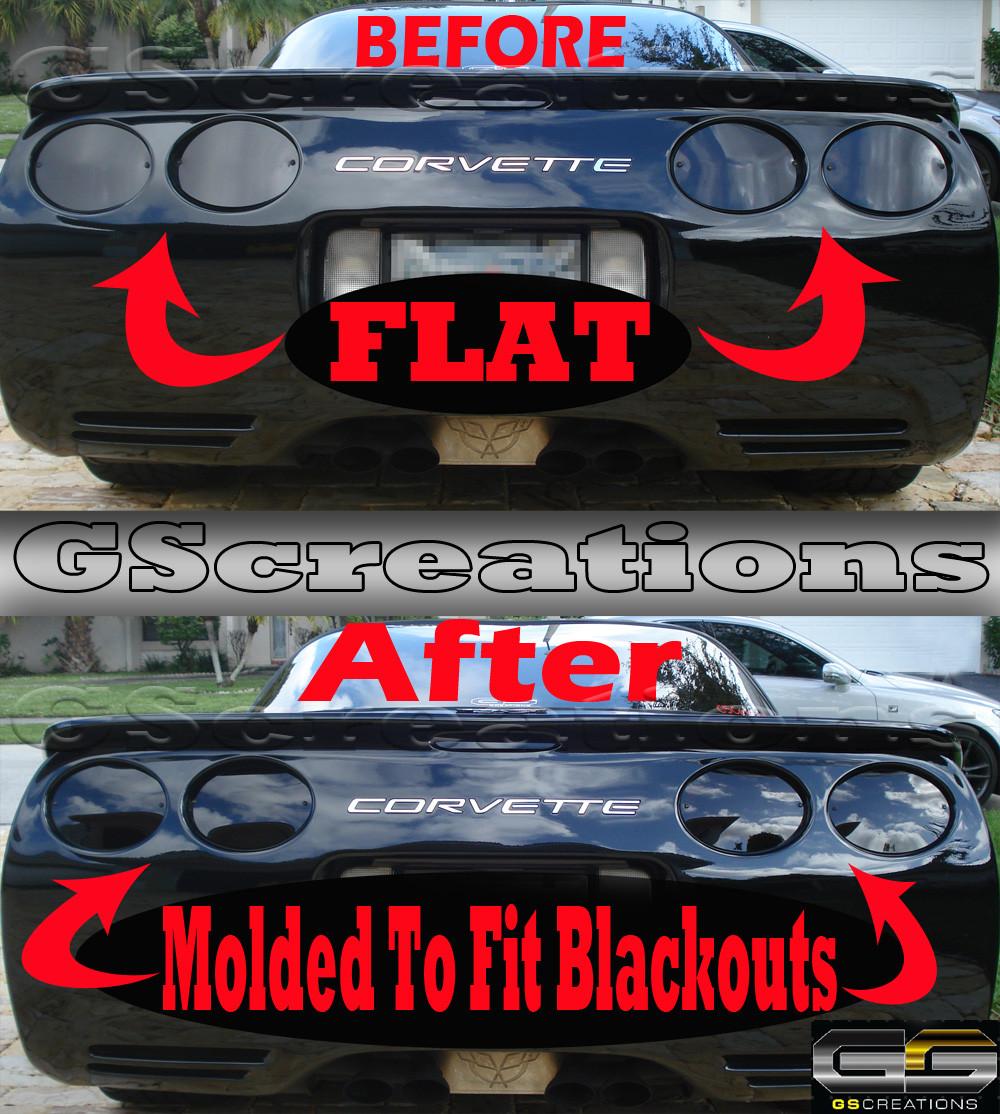 c5 corvette molded rear