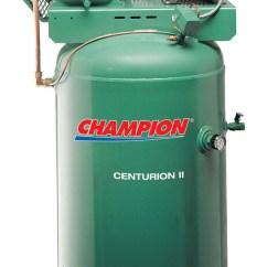Champion Air Compressor Diagram Trailer Wire 7 Pin Centurion Ii 5 Hp Shop Co Categories Home Electric Driven Compressors