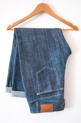 Closet case Morgan boyfriend jeans sewing pattern
