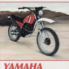 1980 Yamaha Xt250 Wiring Diagram 12v Illuminated Rocker Switch Xt125, Xt200, - 1984 Workshop Manual