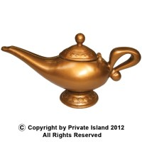 Genie Lamp 1640 - Private Island Party
