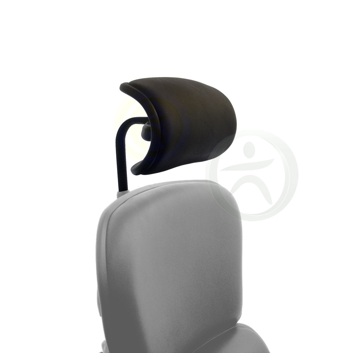 raynor ergohuman chair zeus gaming replacement leather headrest for le9erg